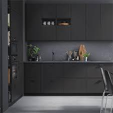 cuisine noir mat ikea résultat de recherche d images pour cuisine kungsbacka houses