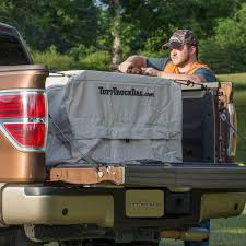 100 Truck Bed Gun Storage Tan Collapsible Khaki Box Great