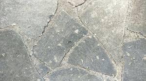 Outdoor Stone Flooring Floor Gray Flat Pattern Exterior