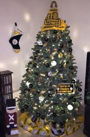 Steelers 2015 Christmas Tree