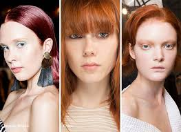 Spring Summer 2017 Hair Color Trends Red