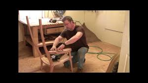 Maloof Rocking Chair Joints by Building An Maloof Inspired Elegant Rocking Chair Shaping The