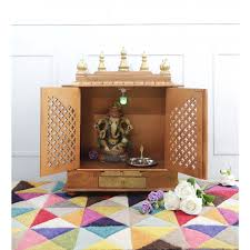 Image Result For Wooden Temple For Home Pooja Room Design