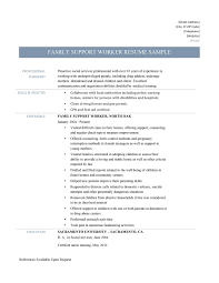 Sample Resume For Disability Support Worker Best Of Chic Group Home Workers In Youth