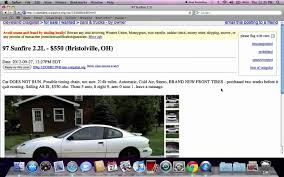 Craigslist Cleveland Ohio Used Cars And Trucks - Deals Online For ... Craigslist New Orleans Cars And Trucks Awesome With Aid Roll Project Car Hell Governmentgifted Gullwings Edition Bricklin Sv1 Wichita Used For Sale By Private Owner Popular Aaron Robinson Cfessions Of A Slave To And Driver No East Curbed For 2500 Could You See Yourself In This 1989 Suzuki Sidekick Find 1998 Acura Integra With 2006 Bmw 5 Series Looks 2014 Harley Davidson Street Glide Motorcycles Sale Update Pics More Vehicle Scams Google Wallet Ebay Twenty Images