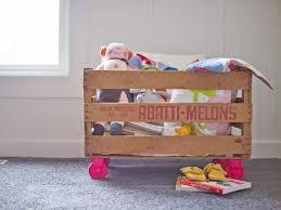 How To Build A Simple Wooden Toy Box by Toy Storage Ideas And Organizers Hgtv