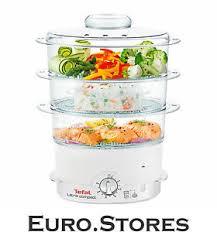 tefal ultra compact steam cuisine vc1006 food steamer 900w white