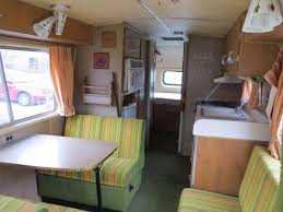 Dodge Travco Motor Home Interior