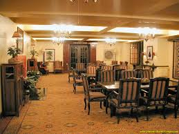 Wawona Hotel Dining Room by Tudor Lounge