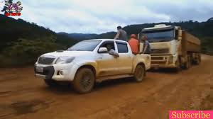 100 Hilux Truck Toyota 4x4 Towing Big S Full Hd YouTube