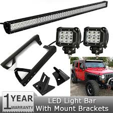 Oslamp 300W 52 inch CREE Chips bo Beam froad LED Light Bar