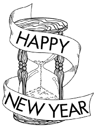 New Years Eve Coloring Pages Free Printable Year S And