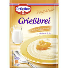 dr oetker grießbrei vanille geschmack 90 g