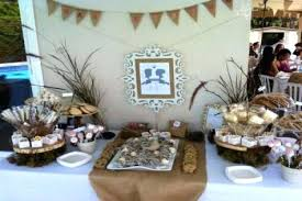Rustic Party Ideas Bridal Shower Wedding Decoration Engagement