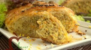 pate a la tunisienne tajine warka ou tajine tunisien en pate feuilletee amour de cuisine