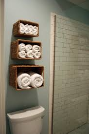 Bathroom Wall Towel Rack Wicker Basket Three Different Sizes Wall ... Hanger Storage Paper Bathro Ideas Stainless Towel Electric Hooks 42 Bathroom Hacks Thatll Help You Get Ready Faster Racks Tips Cr Laurence Shower Door Bar Doors Rack Diy Decor For Teens Best Creative Reclaimed Wood Bath Art And Idea Driftwood Rustic Bathroom Decor Beach House Mirrored Made With Dollar Tree Materials Incredible Hand Holder Intended Property Gorgeous Small Warmer Bunnings Target Height Style Combo 15 Holders To Spruce Up Your One Crazy 7 Solutions Towels Toilet Hgtv