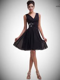cheap black short dresses make your life special gown4style