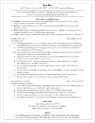 Resume Headline Retail Store Manager Example Management Examples Of Resumes A Merchandiser Sample