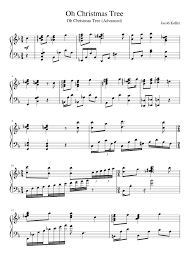 Oh Christmas Tree Sheet Music Composed By Jacob Koller 1 Of 4 Pages