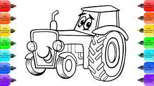 100 Construction Truck Coloring Pages Tractor For Kids Drawing For