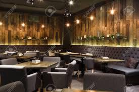 100 Contemporary Design Interiors Cozy Wooden Interior Of Restaurant Copy Space Comfortable Modern