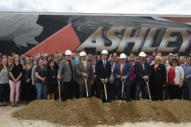 Ashley Furniture Industries Recently Announced That It Has Breaken Ground On The Largest Expansion For Arcadias Facility Since Their Inception In 1970