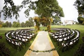 Simple Wedding Ceremony Ideas Great Outside