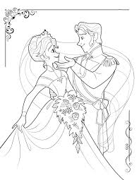 Frozen Coloring Pages Gallery