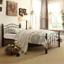 Metal Bed Full by Abigail Brown Metal Platform Bed Multiple Sizes Walmart Com