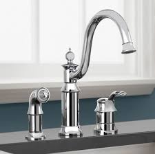Pull Down Kitchen Faucets Moen by Bathroom Elegant Silver Moen Faucets With Up Down Handle For