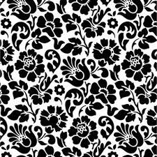 revêtement adhésif barock noir et blanc 2 m x 0 45 m leroy merlin