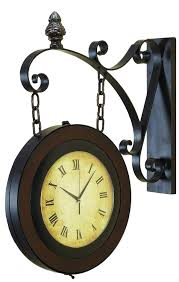 Fresh Antique Double Sided Clock Pottery Barn #18158 Pottery Barn Large Wall Clocks Ashleys Nest Potterybarn Inspired Clock Black Railway Regulator Ebth Union Station Au Rustic Pendant 16 Best Giant Images On Pinterest Wall Clock Just Photocopy 4 Diff Faces And Put Them Under A Glass Plate Oversized John Robinson House Decor Mount Digital Timer