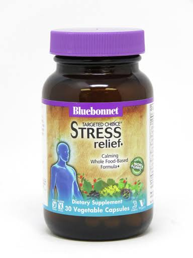 Bluebonnet Nutrition Targeted Choice Stress Relief Dietary Supplement - 30ct