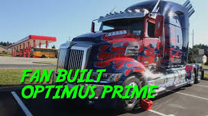 100 Optimus Prime Truck For Sale OPTIMUS IS HERE ONLY FAN BUILT 2017 Western Star Transformers