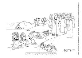 Bible Cartoons Colouring Sheets Index