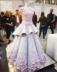 This dress is actually a wedding cake and we want it