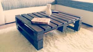 Pallet Coffee Table Video Diy How To Painted Furniture Woodworking