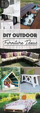 Best 25 Handmade outdoor furniture ideas on Pinterest