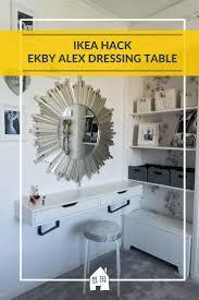 Vanity Table Ikea Hack by 63 Best Ikea Hack Bedroom Makeover Images On Pinterest Childrens