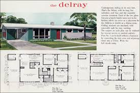 The Retro Home Plans by Mid Century Modern House Plans Mid Century Modern Ranch The