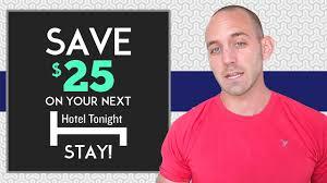 TRAVEL TIPS: Hotel Tonight Promo Code $25 OFF!