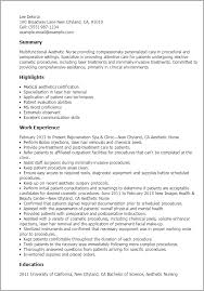 Template Aesthetic Job Resume Professional Nurse Templates To Showcase Your Talent Free