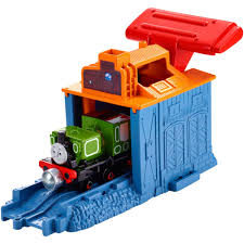 Thomas The Train Tidmouth Sheds Playset by Thomas U0026 Friends Take N Play Speedy Launching Luke Walmart Com