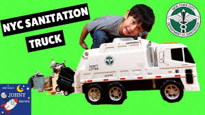 100 Sanitation Truck NYC Toy Garbage S For Kids DSNY Motorized