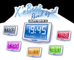x nbeep réveil digital pour windows xp widget gadget