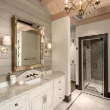 White Rustic Bathroom s