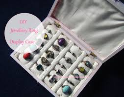 DIY Jewellery Ring Display Case Oh My Fabric Heart