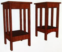 Easy Woodworking Projects Free Plans by These Mission End Table Plans Are For The Woodworking Beginner