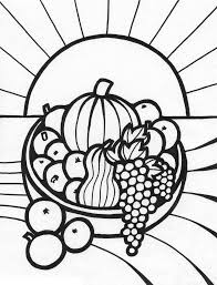 Ideas Of Printable Coloring Pages Fruit Basket With Download Proposal