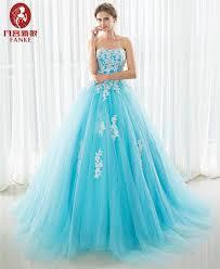 online get cheap ball gown blue aliexpress com alibaba group